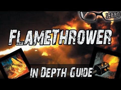 Engineer Flamethrower Kit Guide Guild Wars 2 - New/Old Players