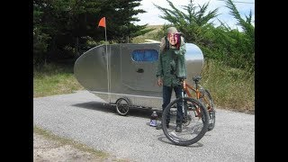 Bicycle Trailer Camper 6ix9ine Bicycles Bike Airstream Trailer RV