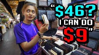 Bangkok Fake Night Bazaar Spree!
