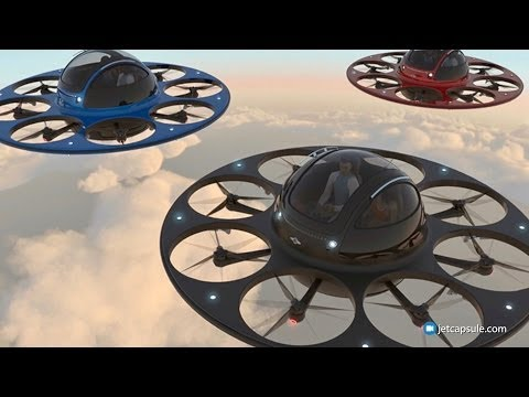 Fly To Work In Your Two Seater Drone