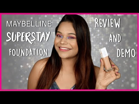 Maybelline Superstay Foundation Review & Demo!! || Miss Pink Shoes