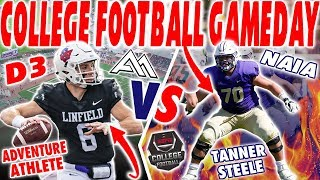NAIA College Football Gameday VS D3 College Football Gameday