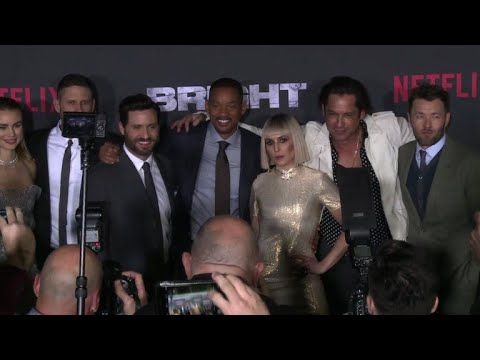 Red carpet for Netflix's 'Bright'