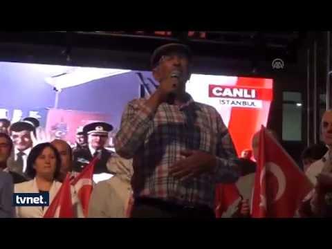 Ömer Halisdemir'in babası Erdoğan'ı dinlerken gözyaşlarına b