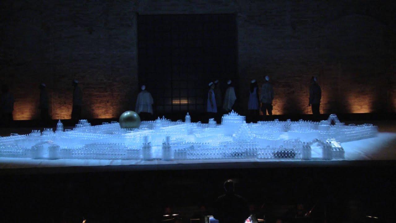 Nabucco Allemandi Vacis Sferisterio di Macerata 2013