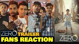 Fans CRAZY REACTION After Watching ZERO Trailer   Shah Rukh Khan, Katrina Kaif, Anushka Sharma