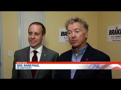 Rand Paul Joins Eric Brakey in Maine