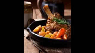 Best Slow Cooked Lamb Shanks With Butterbean Cassoulet Recipe