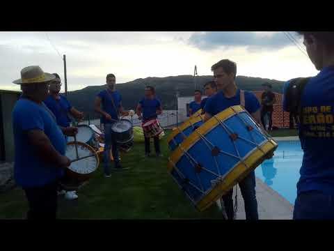 Grupo de bombos verão azul.em honra de São TIAGO - MESQUINHATA  2018