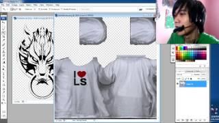 DIY make your own T-shirt (Edit TXD) in Gta San Andreas Tutorial