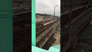 JR西日本 山陽線 快速サンライナー 117系 電車 通過
