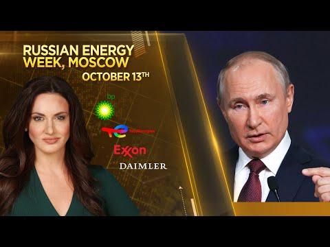 Russia's Vladimir Putin talks energy and geopolitics