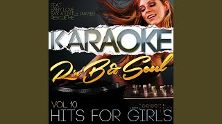 A Change Is Gonna Come (In the Style of Aretha Franklin) (Karaoke Version)