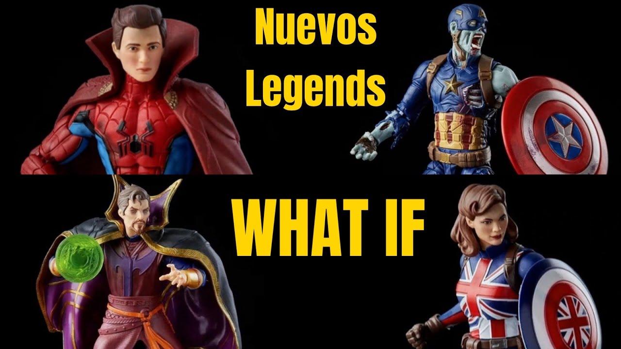 NUEVOS LEGENDS de What If - capitan america Zombie, Spiderman, capitana carter,etc