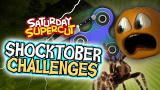 Annoying Orange - SHOCKTOBER Horror Challenges Supercut!