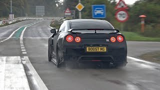 Many Modified Nissan GT-R R35 Full Throttle Accelerations!