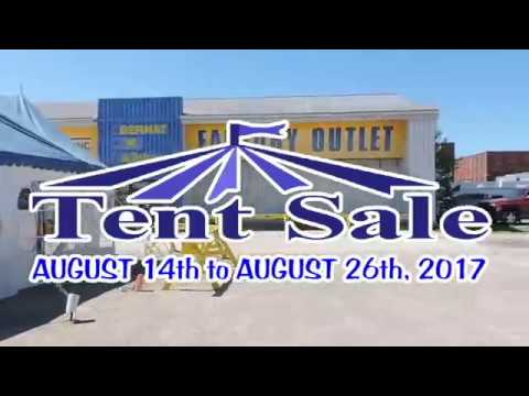 Spinrite Tent Sale August 2017  sc 1 st  YouTube & Spinrite Tent Sale August 2017 - YouTube