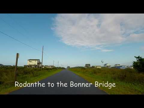 Outer Banks drive - Rodanthe to the Bonner Bridge