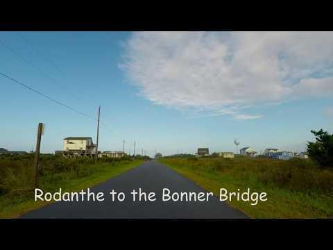 Outer Banks drive - Rodanthe to the Bonner Bridge
