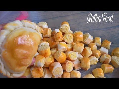 Bánh quai vạc nhân dừa đậu xanh siêu ngon với phiên bản mini siêu cute|| Natha Food