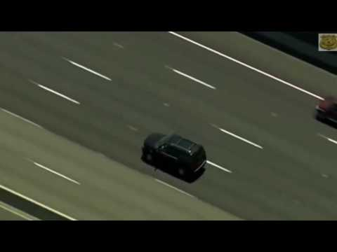 California Police Chase Teenager In Stolen SUV 2016