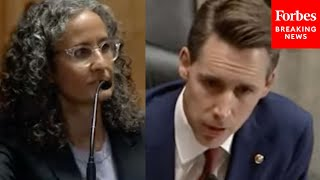 Hawley Tells Biden Judicial Nom He Thinks She's Pretending Not To Know Case Law To Avoid Answering