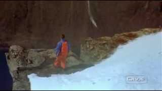 Adrenaline Rush (man jumps off mountain - Extreme Sport)