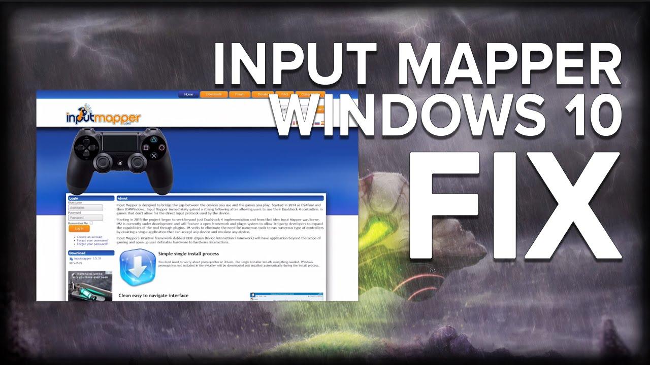 input mapper ps4 controller download