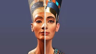 how NEFERTITI QUEEN OF EGYPT looked in REAL LIFE