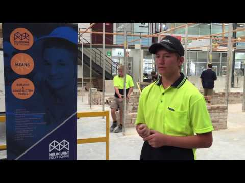 Bailey - Enrolled in Bricklaying Pre-apprenticeship