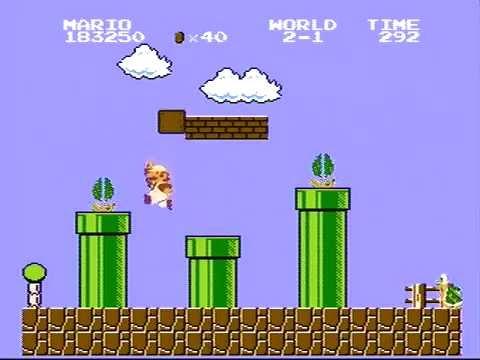 Super Mario Bros. - World Record High Score - 1,441,150
