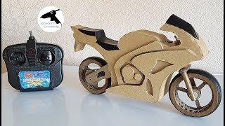 як зробити мотоцикл з паперу