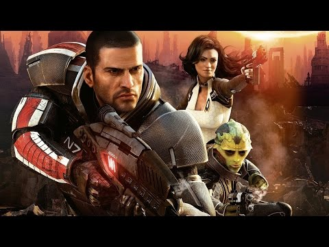 Mass Effect 2 Game Movie (All Cutscenes) 1080p HD