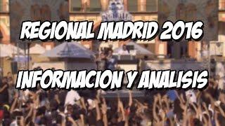 BATALLA DE LOS GALLOS - REGIONAL MADRID 2016 - INFORMACIÓN + VER