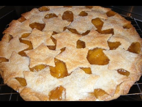 How To Make Peach Pie From Home-Canned Peaches