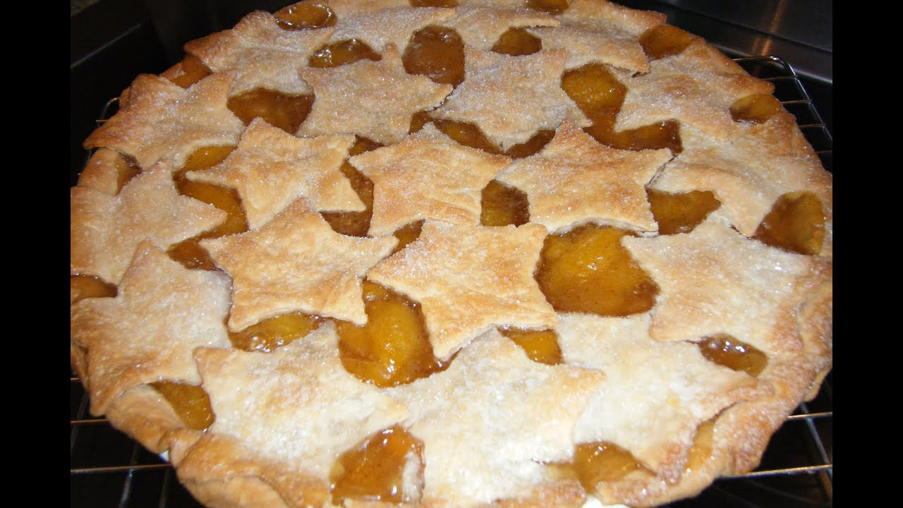 Peach pie. Pie with canned peaches - recipes, photos 33
