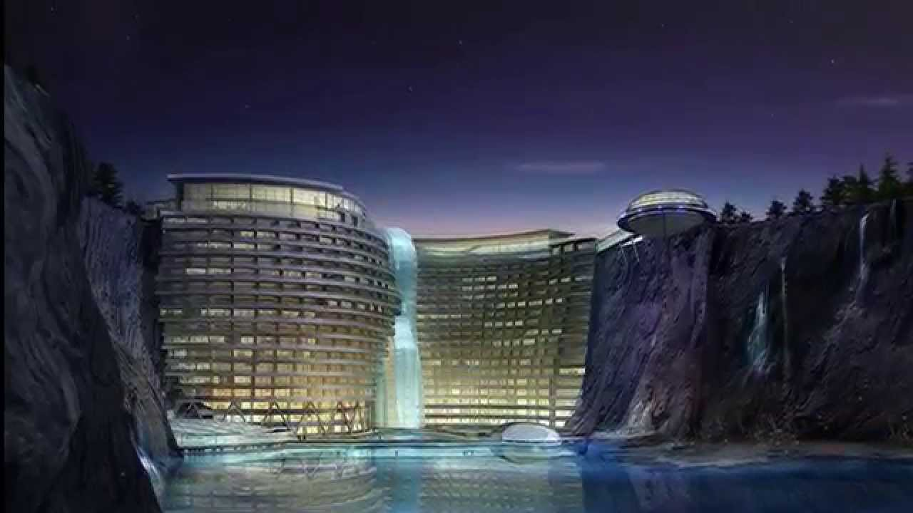 The Lavish Five Star Cave Hotel Being Built In An Abandoned Chinese Quarry You