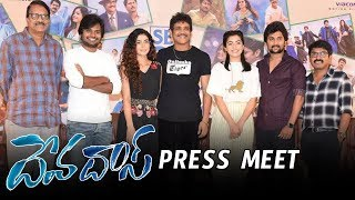 Devadas Movie Team Press Meet | Nani | Nagarjuna | Devadas 2018 | Rashmika | Aakanksha Singh
