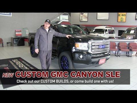 New Custom Lifted Gmc Canyon Custom Trucks White Bear