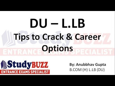 Career after graduation: Delhi University LAW | All about DU-LLB