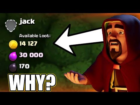 WHY?WE CAN'T GET TOO MUCH LOOT IN CLASH OF CLANS | BIG REASON! LET'S FIND OUT
