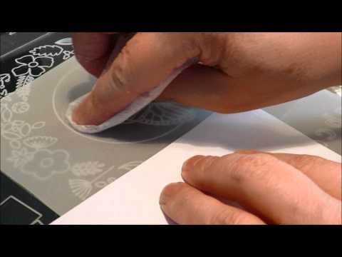 Tutorial Emboss Parchment Paper with Groovi Plates First Steps