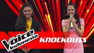 Novi vs Salsa | Knockouts | The Voice Indonesia GTV 2018