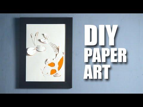 Paper Art | Room Décor Ideas