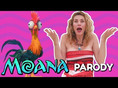 """Moana """"How Far I'll Go"""" Mom Parody"""