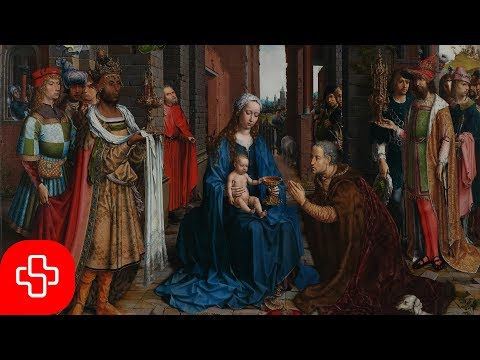 Gregorian/Christmas chant: Puer natus in Bethlehem (Lyric Video)