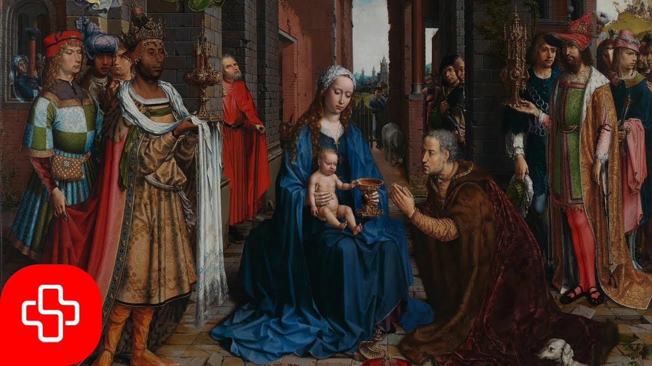Gregorian Christmas Chants.Gregorian Christmas Chant Puer Natus In Bethlehem Lyric Video