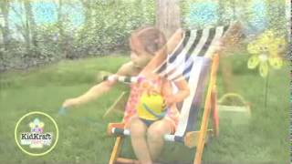 Kidkraft Children's Kids Garden Deckchair 00102