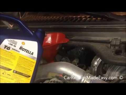6 0 powerstroke fuel filter change ford superduty 6 0l powerstroke oil change procedure youtube  ford superduty 6 0l powerstroke oil