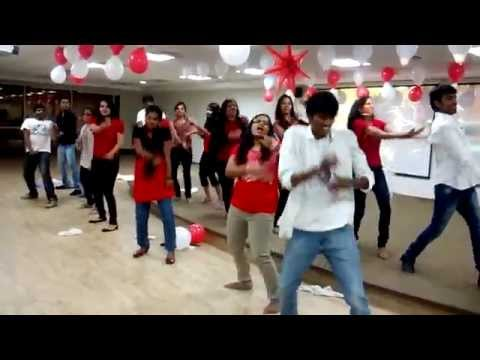Flash MoB @Cognizant Hyderabad-DLF